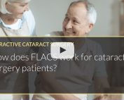 How does FLACS work for cataract surgery patients Mohammed Muhtaseb iLase Wales