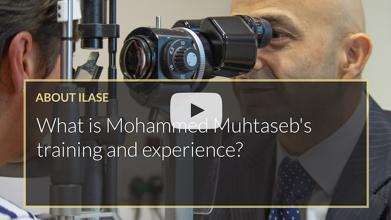 What is Mohammed Muhtasebs training and experience iLase UK Wales